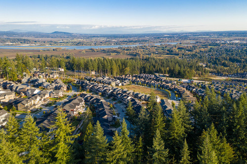 argyle-burke-mountain-aerial-view at 3486 Highland Drive, Burke Mountain, Coquitlam