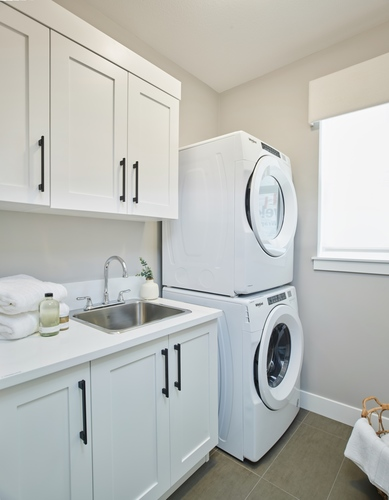 argyle-laundry-room at 3486 Highland Drive, Burke Mountain, Coquitlam