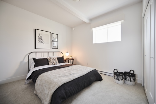 argyle-legal-suite-bedroom at 3486 Highland Drive, Burke Mountain, Coquitlam