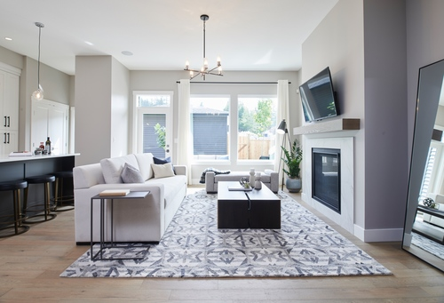 argyle-living-room at 3486 Highland Drive, Burke Mountain, Coquitlam