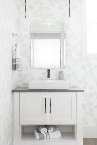 Pacific at McNally Creek - Powder Room at 16232 10 Avenue, King George Corridor, South Surrey White Rock