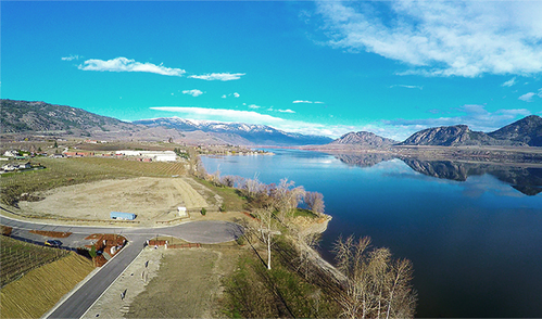 reflection-point-lot-view-mountain_2 at 8401 120 Avenue, Osoyoos