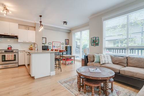 Spacious Living Area at 78 - 100 Klahanie Drive, Port Moody Centre, Port Moody