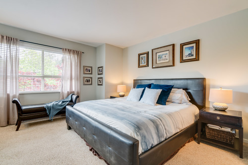 Spacious Master Suite at 78 - 100 Klahanie Drive, Port Moody Centre, Port Moody