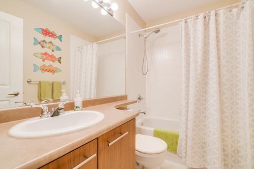 Main Bathroom at 78 - 100 Klahanie Drive, Port Moody Centre, Port Moody