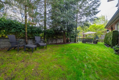 Large, Private & Fenced Yard at 78 - 100 Klahanie Drive, Port Moody Centre, Port Moody