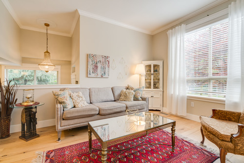Spacious Living Room at 78 - 100 Klahanie Drive, Port Moody Centre, Port Moody