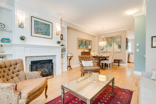 Living and Dining Areas are Bright and Open at 78 - 100 Klahanie Drive, Port Moody Centre, Port Moody