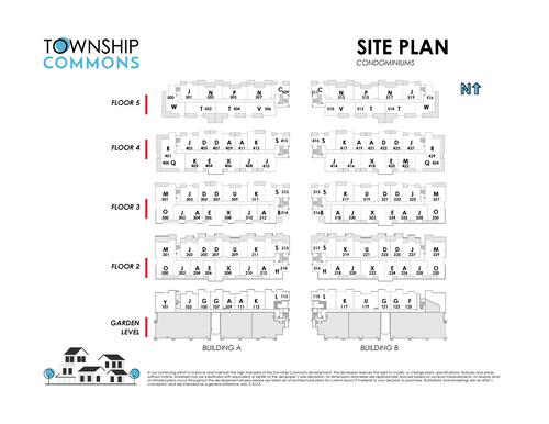 Township Commons - Site Map at B315 - 20487 65 Avenue, Willoughby Heights, Langley