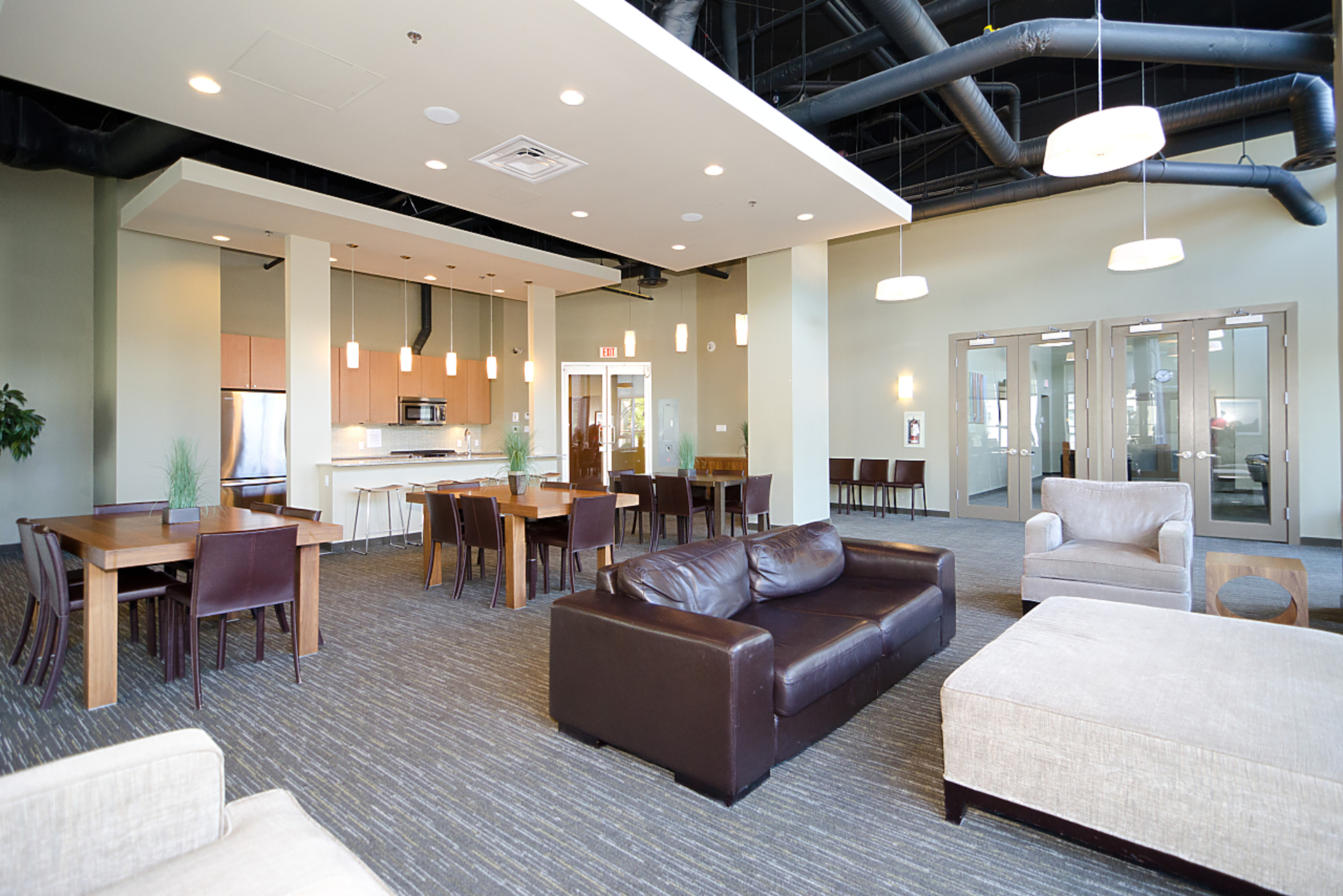 121-brew-st-common-room at 410 - 121 Brew Street, Port Moody Centre, Port Moody
