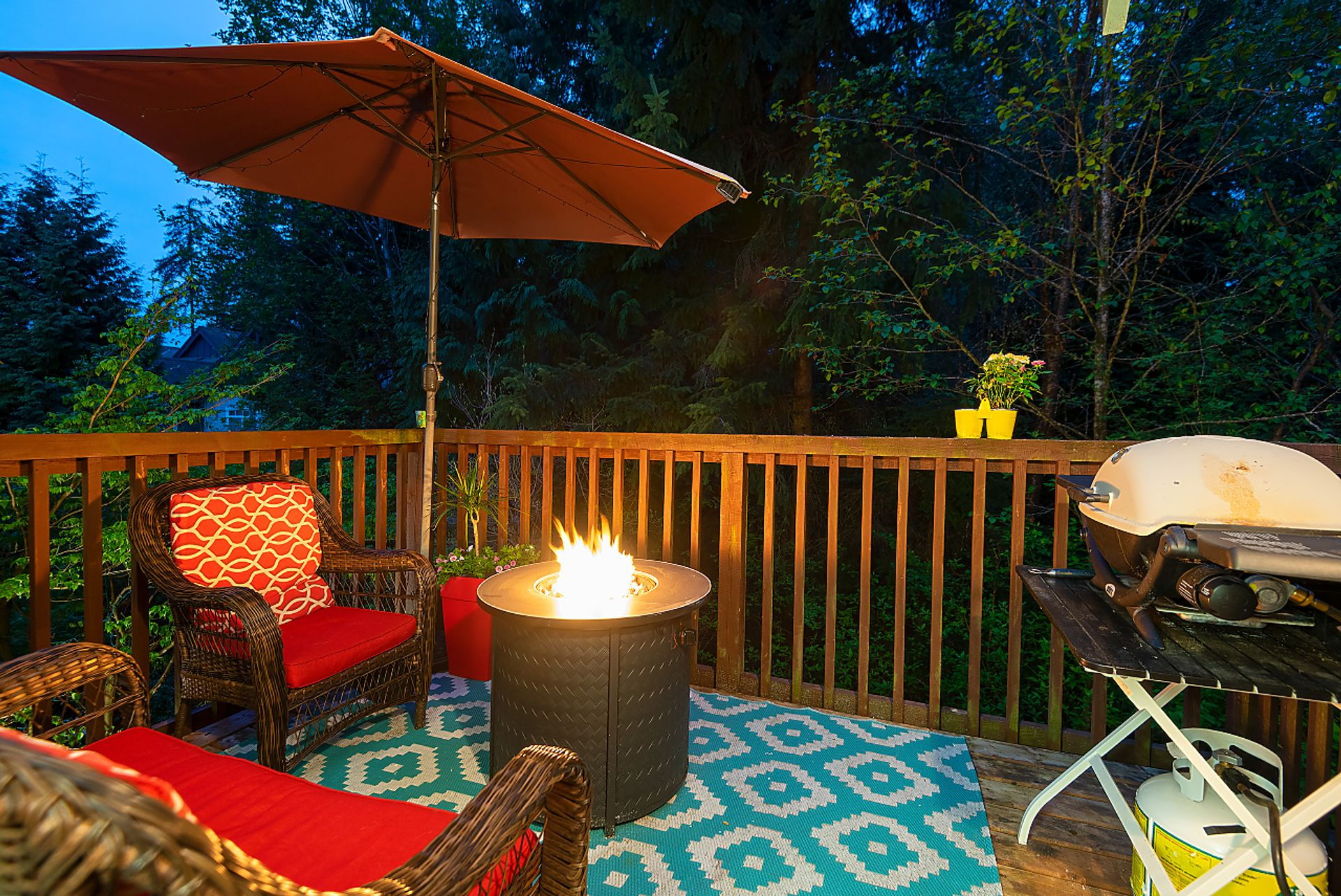 balcony at 28 - 50 Panorama Place, Heritage Woods PM, Port Moody