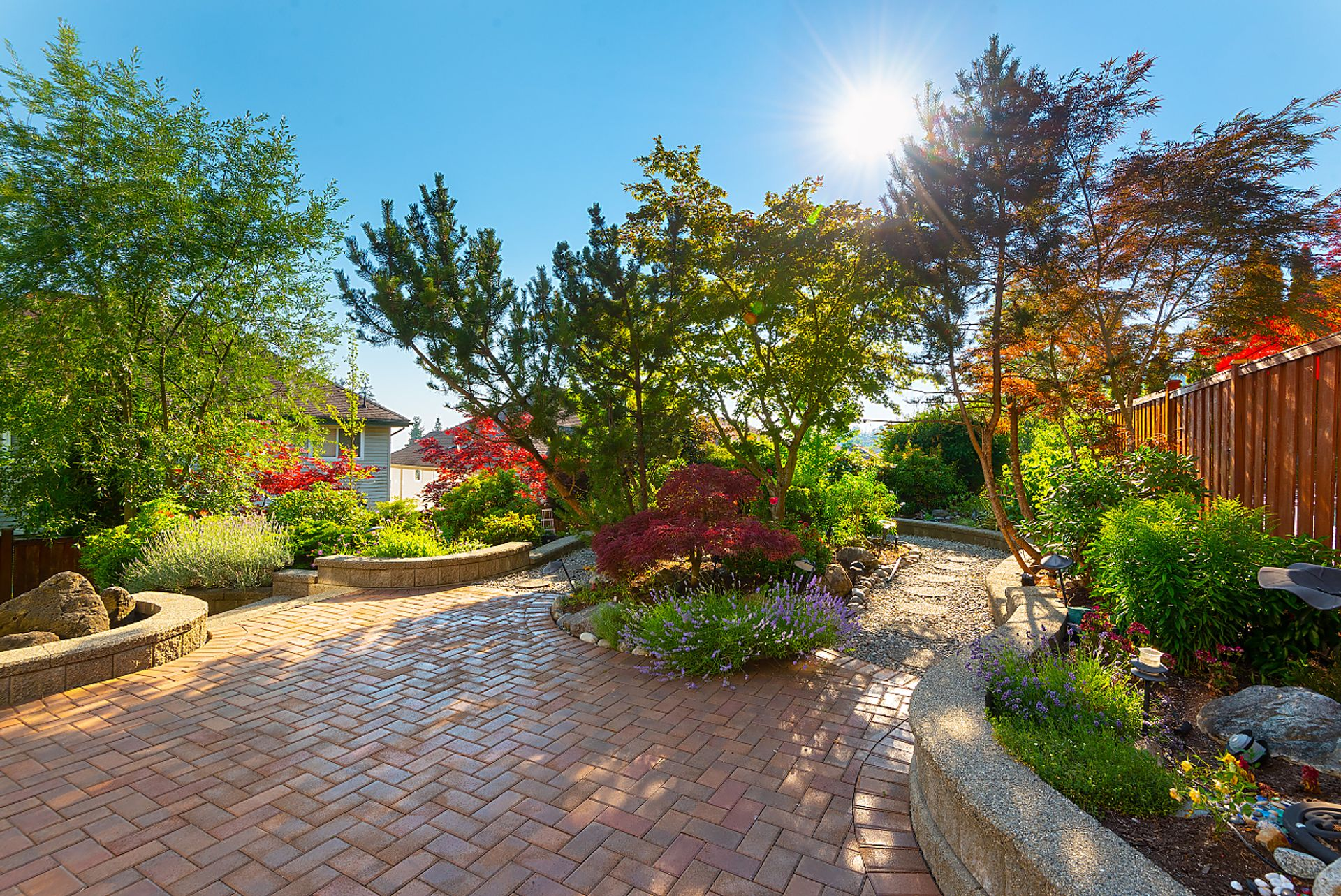 yard at 11 Cliffwood Drive, Heritage Woods PM, Port Moody