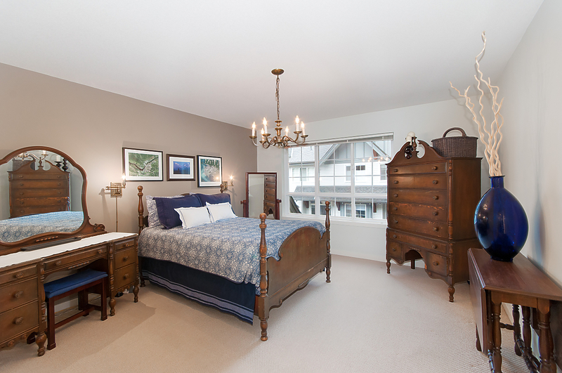 master-bedroom at 17 - 2200 Panorama Drive, Heritage Woods PM, Port Moody