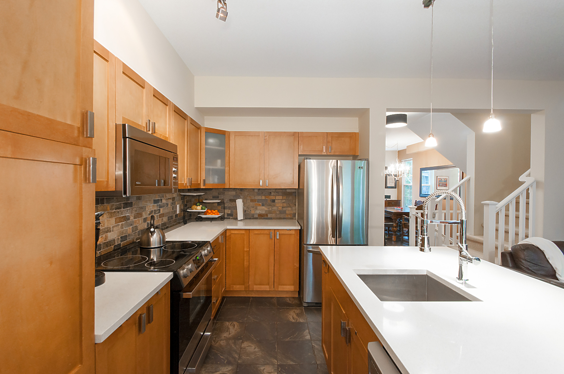 kitchen2 at 17 - 2200 Panorama Drive, Heritage Woods PM, Port Moody