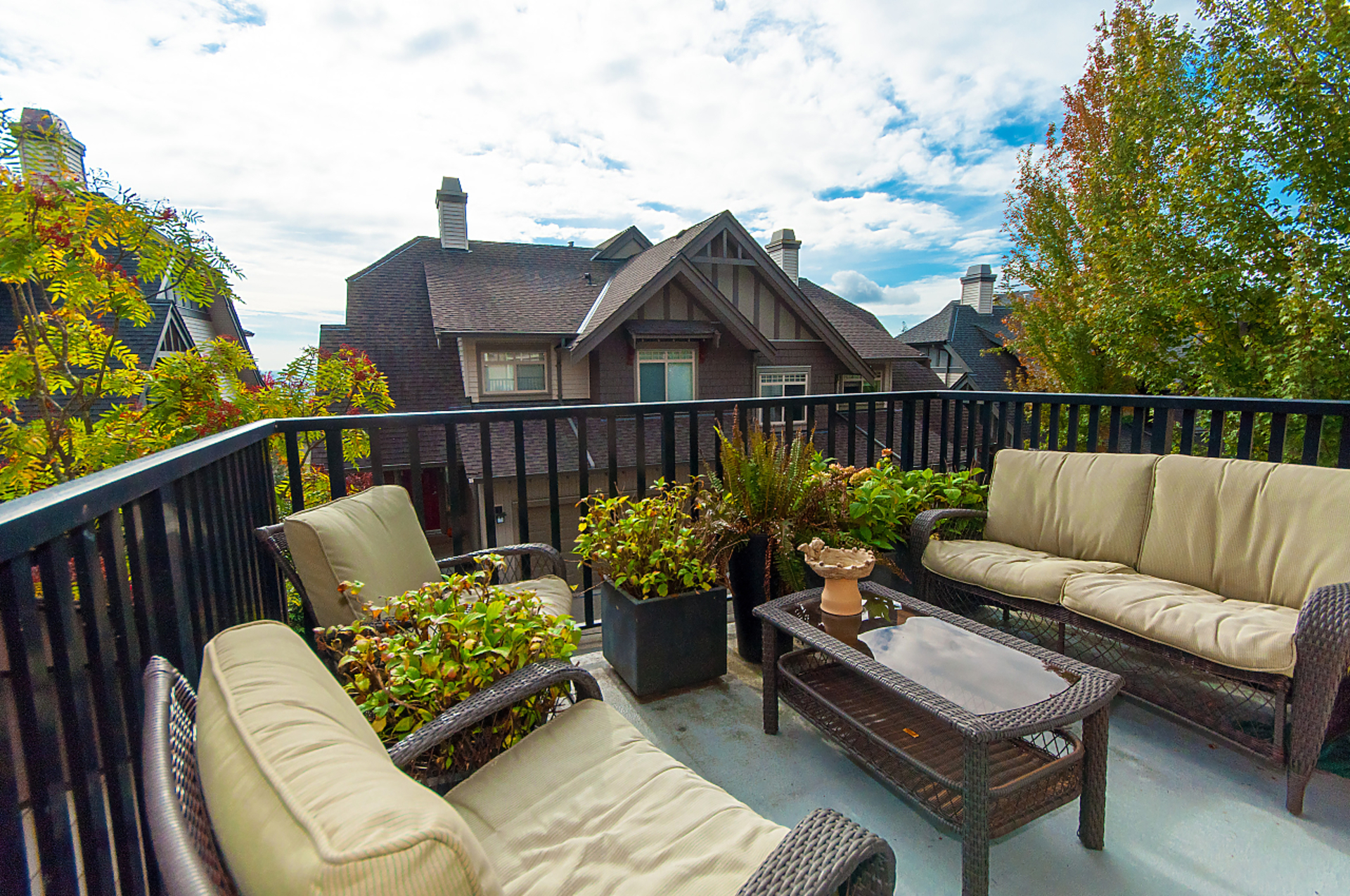 balcony at 31 - 55 Hawthorn Drive, Heritage Woods PM, Port Moody