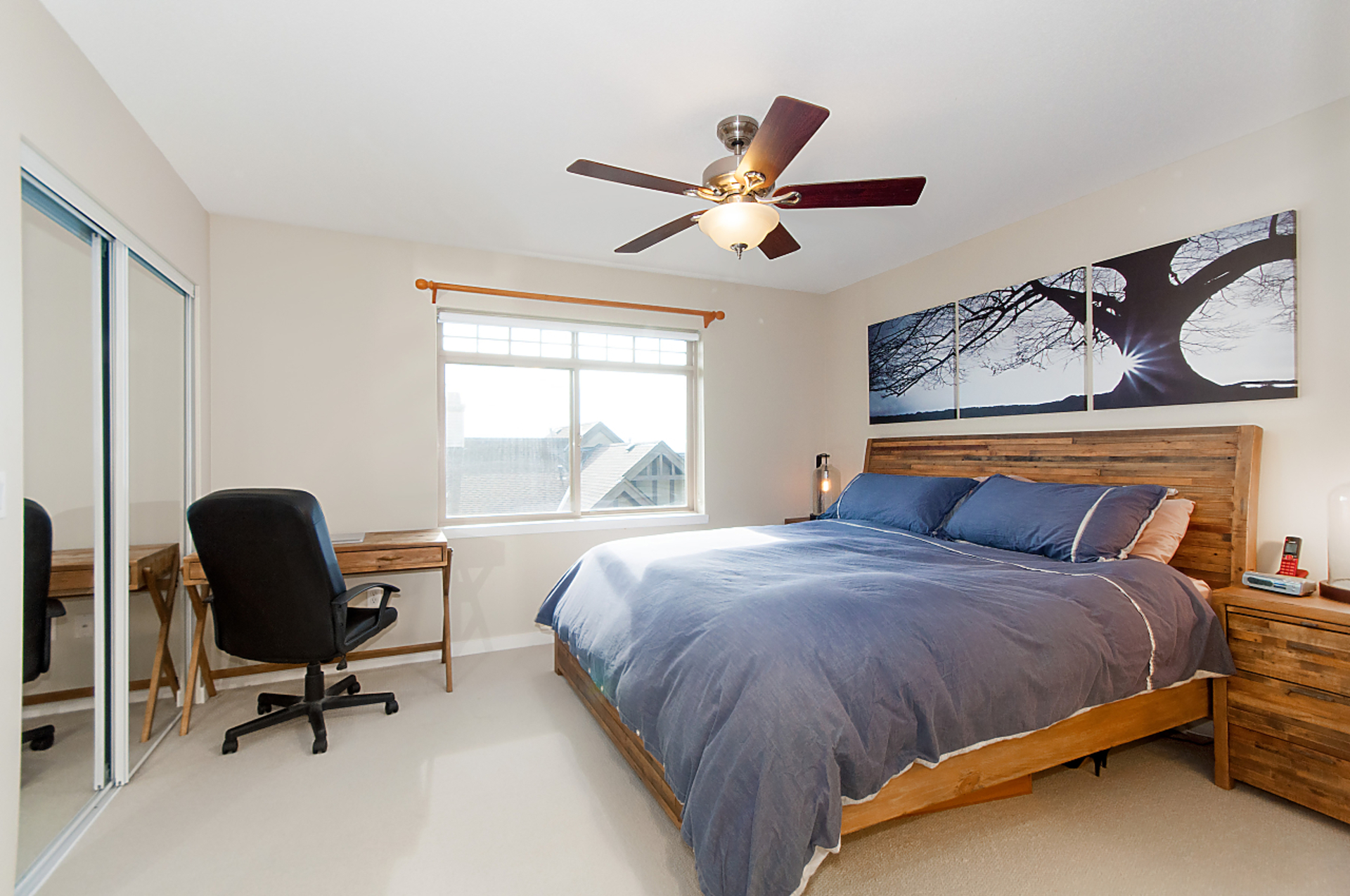 master-bed at 31 - 55 Hawthorn Drive, Heritage Woods PM, Port Moody