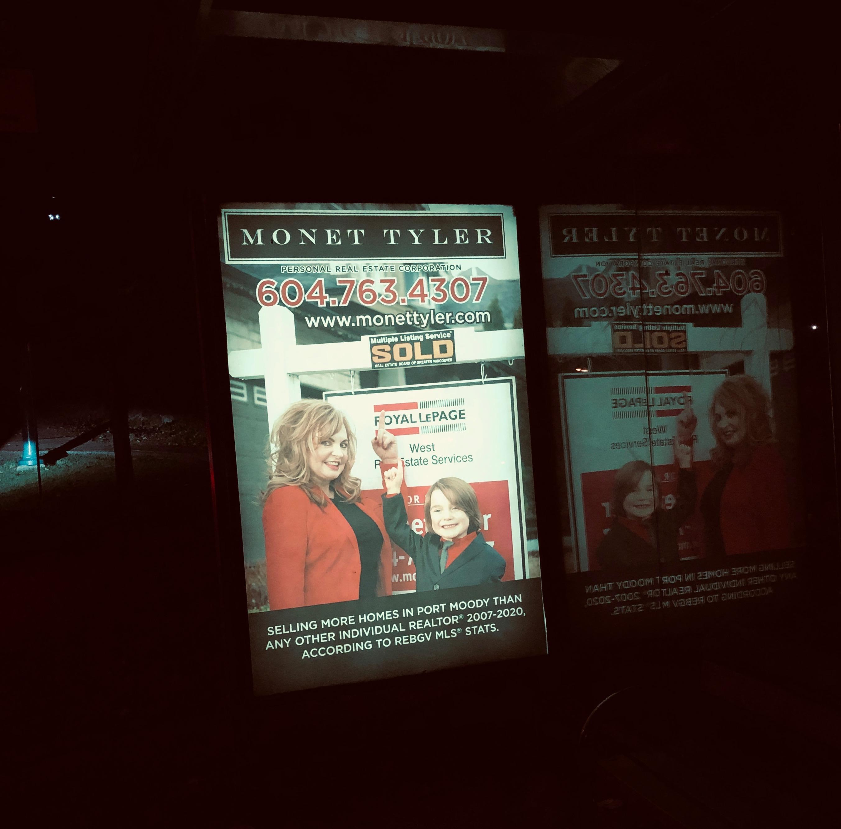 Bus Shelter Signs