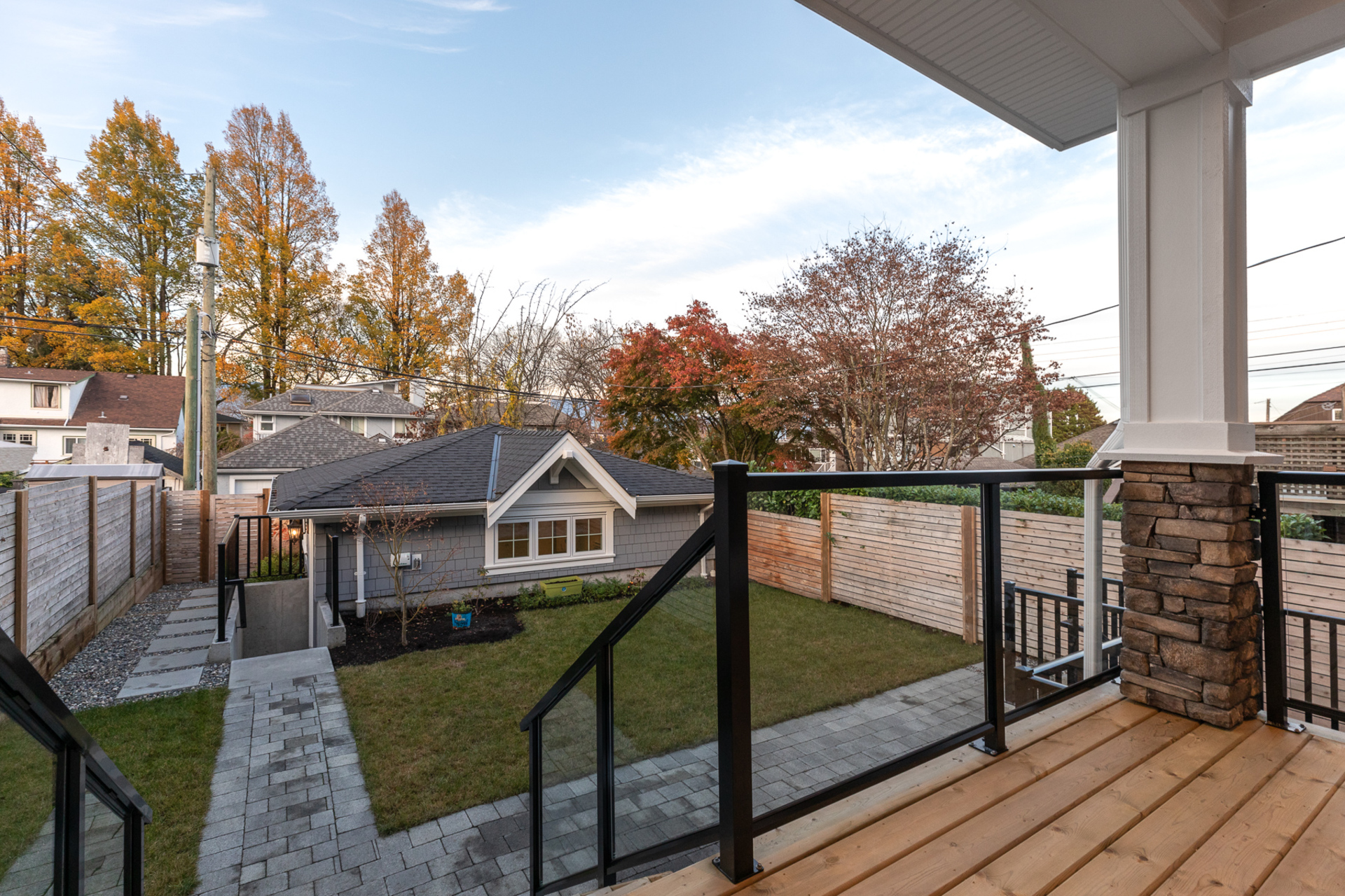 Backyard/Deck  at 3331 W 22nd Avenue, Dunbar, Vancouver West