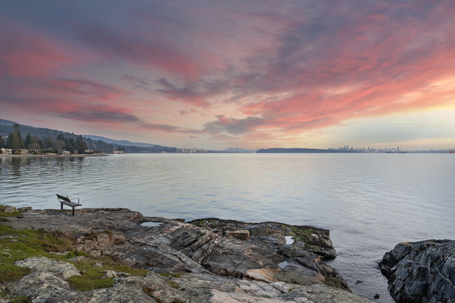 A short walk to West Vancouver's