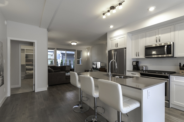 kitchenliving2 at 68 - 1188 Main Street, Downtown SQ, Squamish