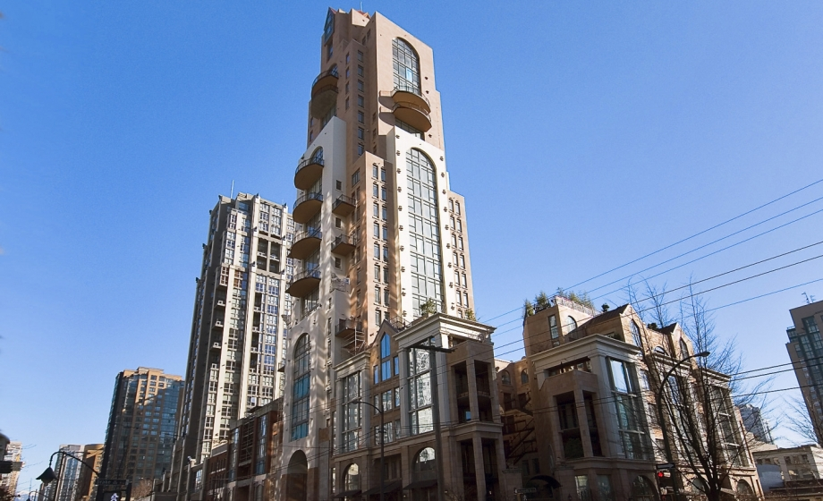 1001 - 1280 Richards, Yaletown, Vancouver West
