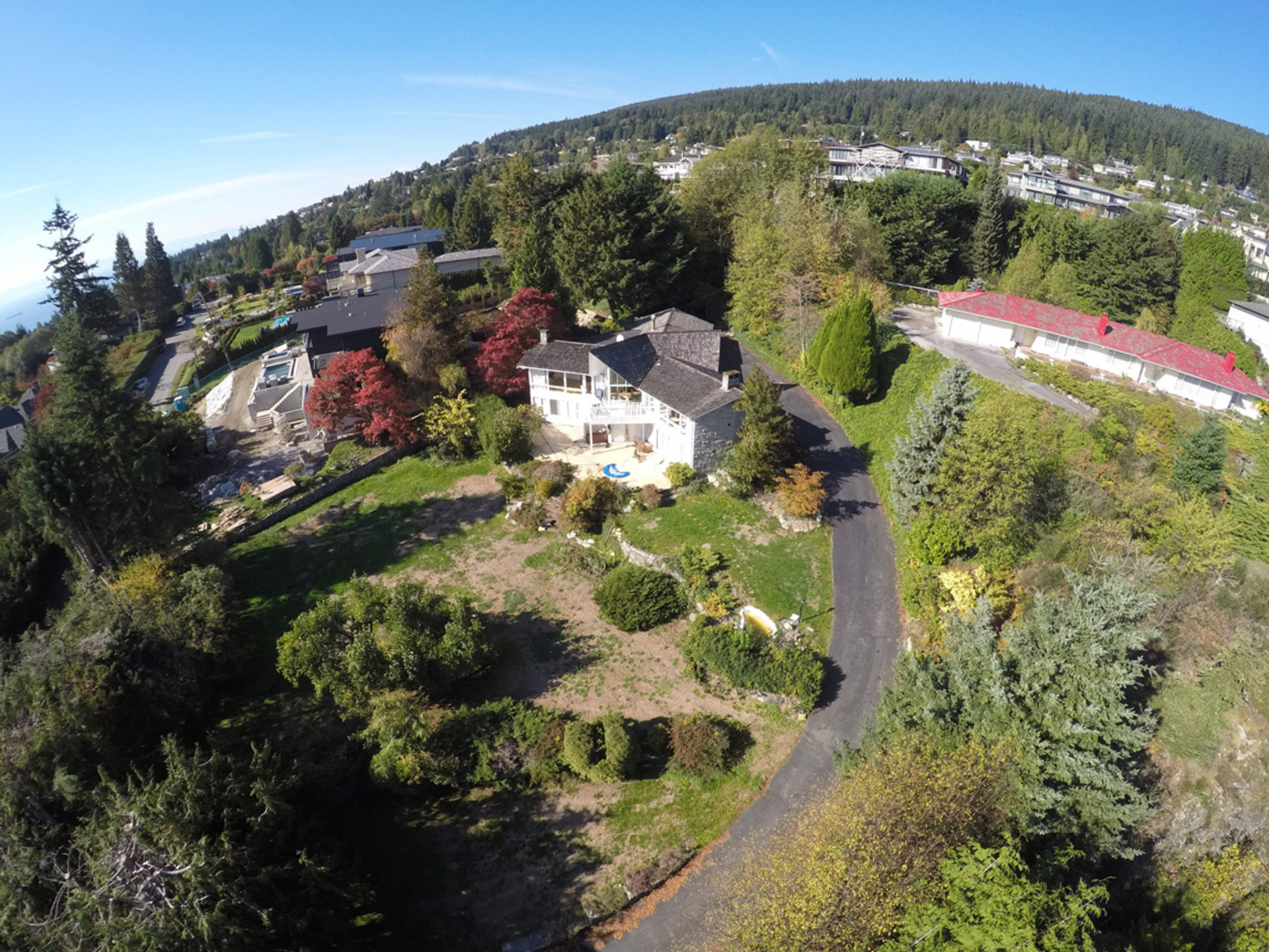 Overhead-Image at 1055 Groveland Road, British Properties, West Vancouver