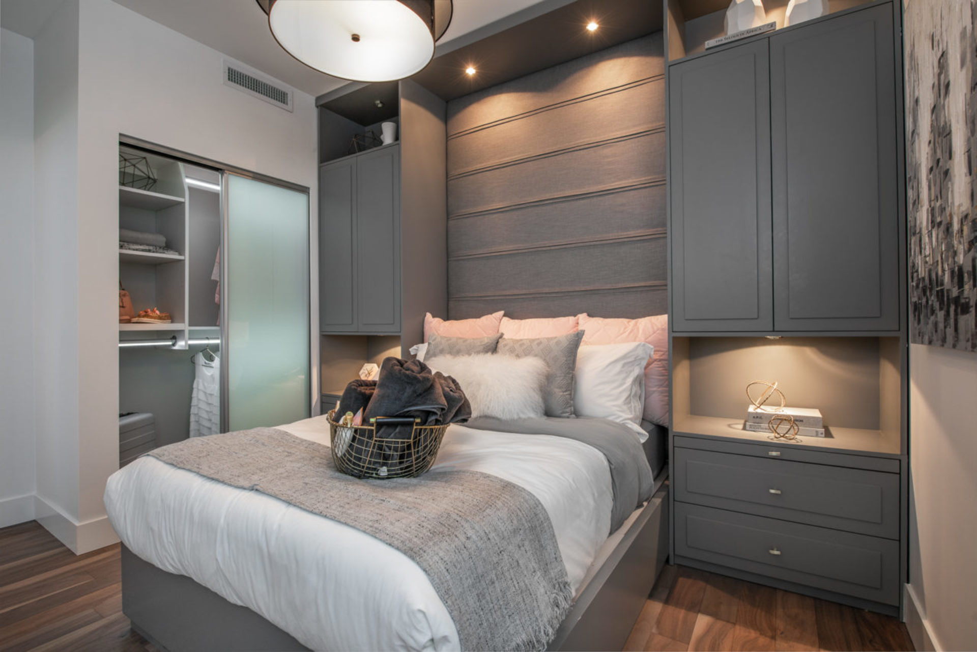 park-west-bedroom at Park West at Lions Gate Village (1633 Capilano Road, North Vancouver)