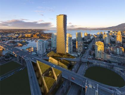 Vancouver House Highrise At 1480 Howe Street, Yaletown, Vancouver West
