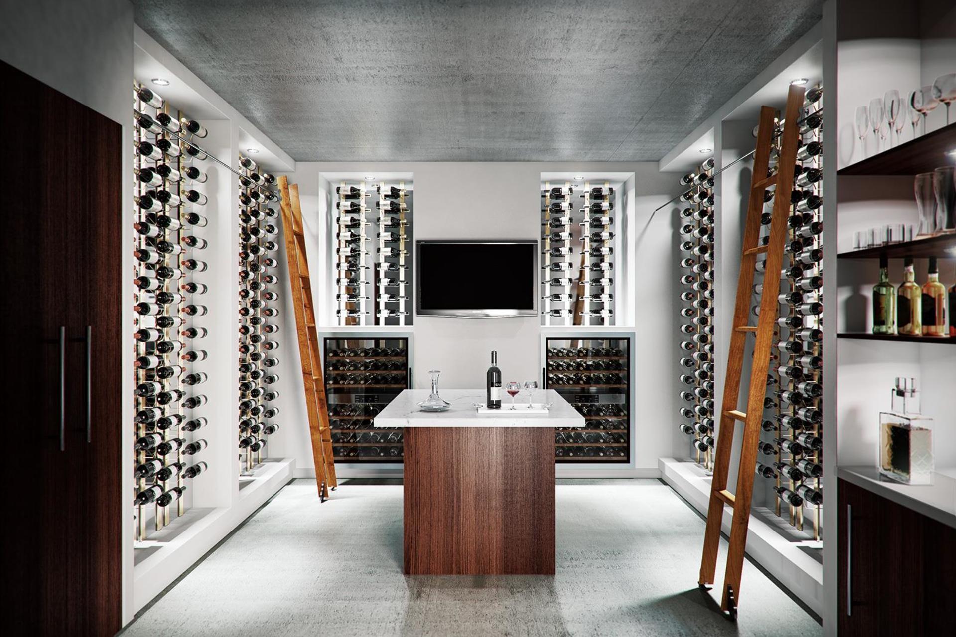 Vancouver House Wine Cellar