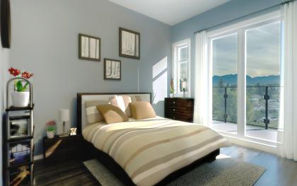 kensington-point-bedroom at Kensington Point (3939 Knight Street, Knight, Vancouver East)