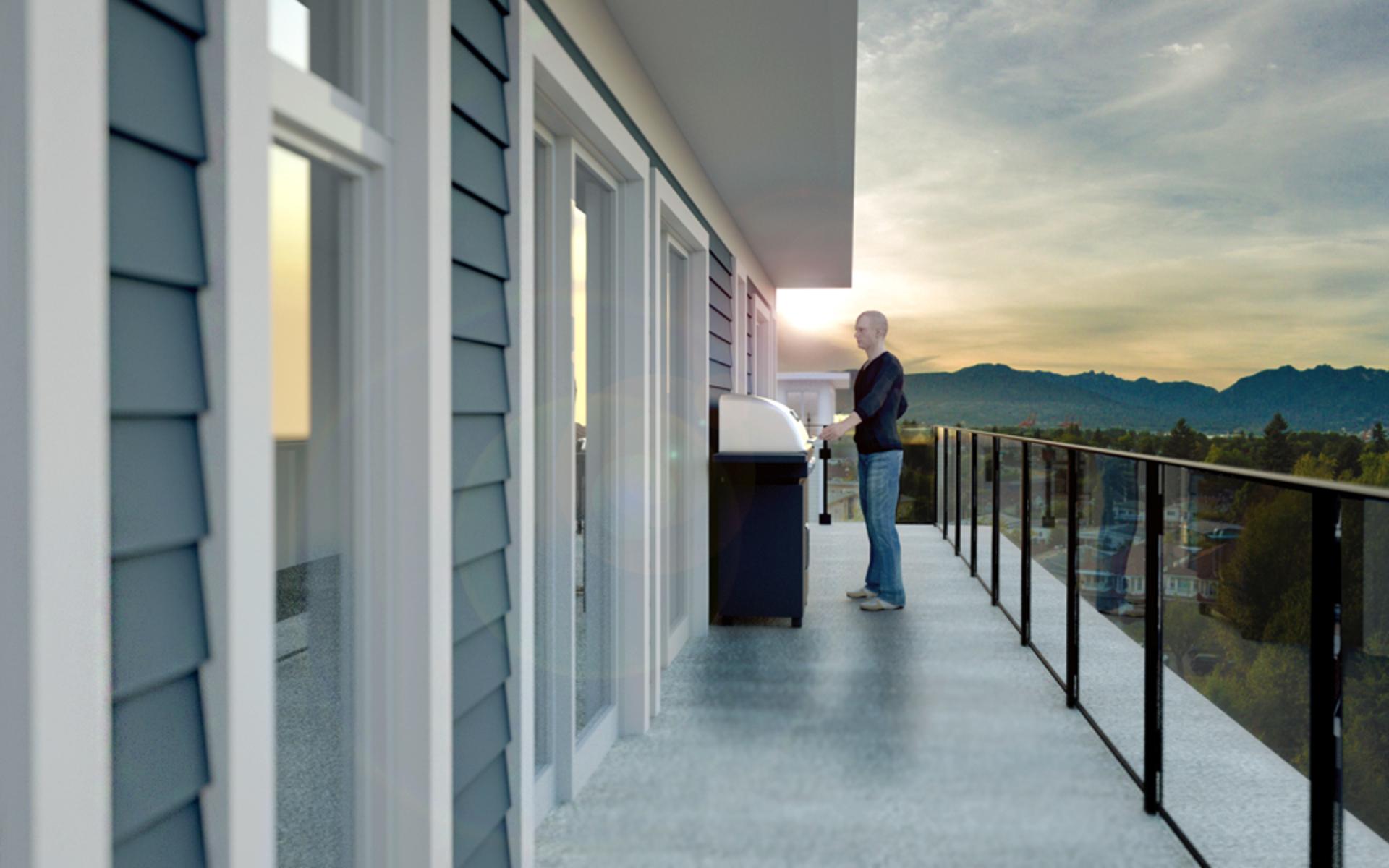 kensington-point-balcony at Kensington Point (3939 Knight Street, Knight, Vancouver East)