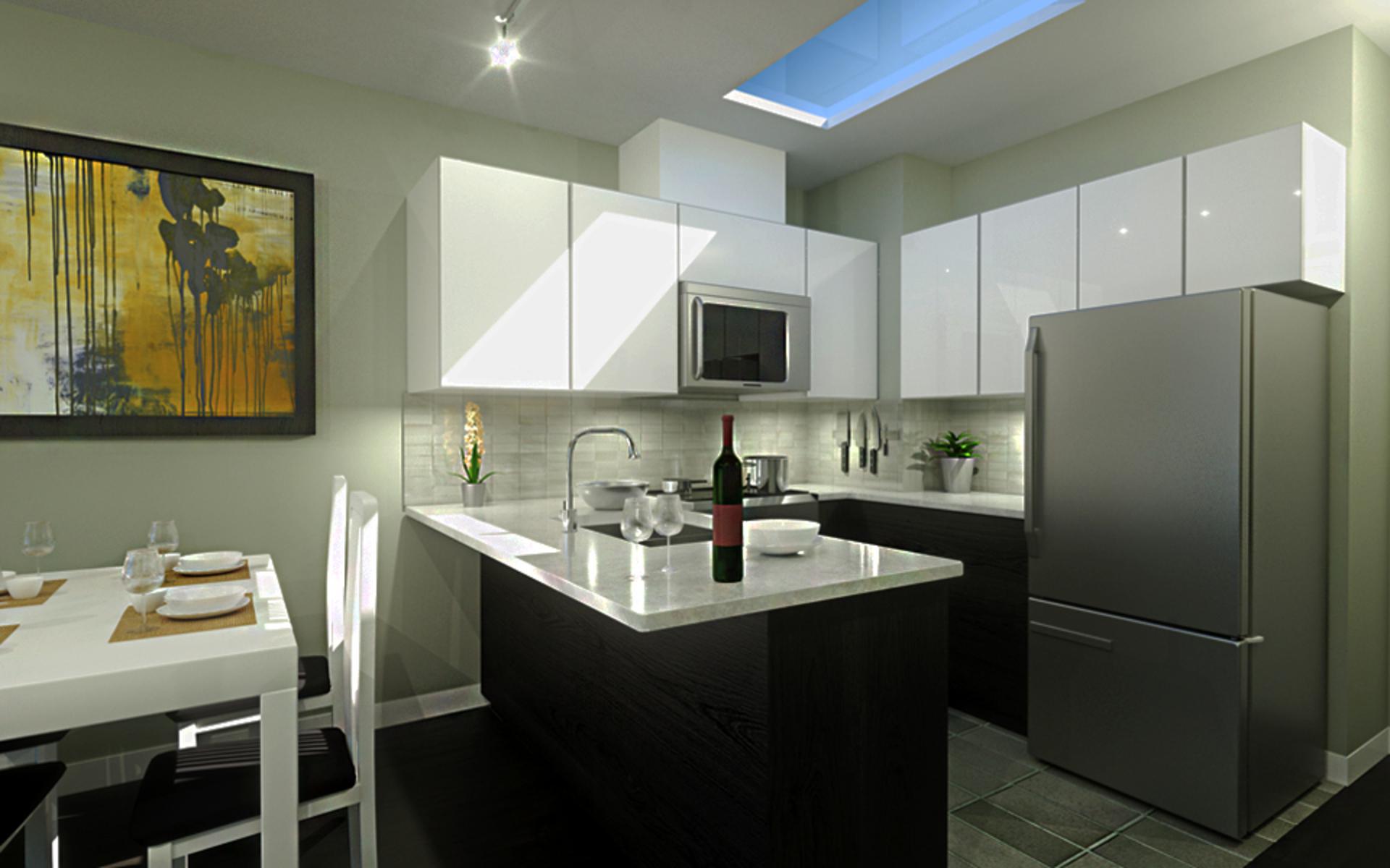 kensington-point-kitchens at Kensington Point (3939 Knight Street, Knight, Vancouver East)