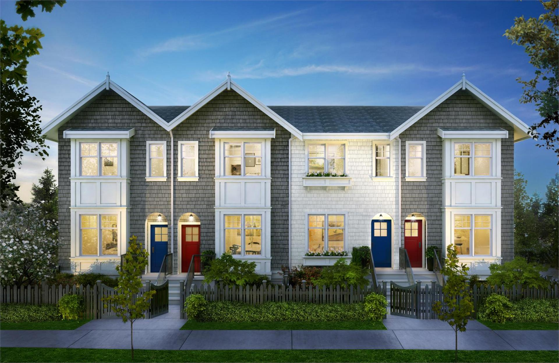 sutherland-townhomes at Sutherland Townhomes (2824 St. George Street, Port Moody Centre, Port Moody)