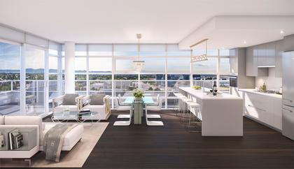 _cascade_city_interior_rendering_living at 7100 Elmbridge Way, Brighouse, Richmond