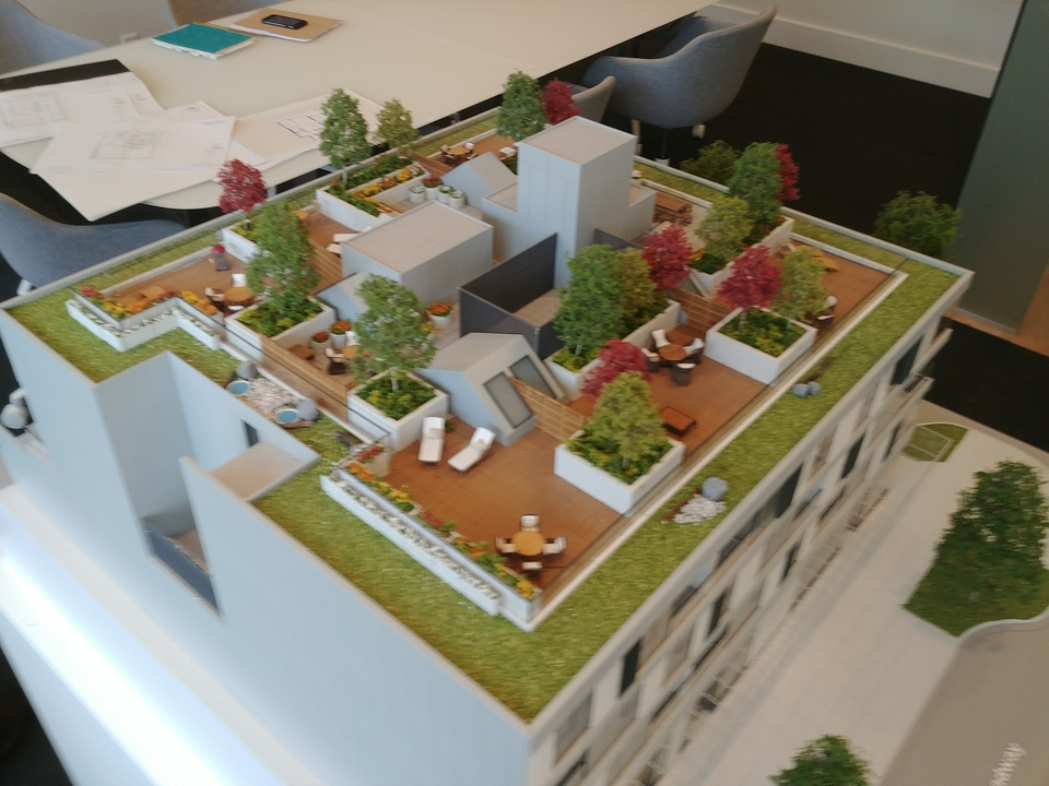 monument-model-from-sw-corner at 2500 West Broadway, Kitsilano, Vancouver West