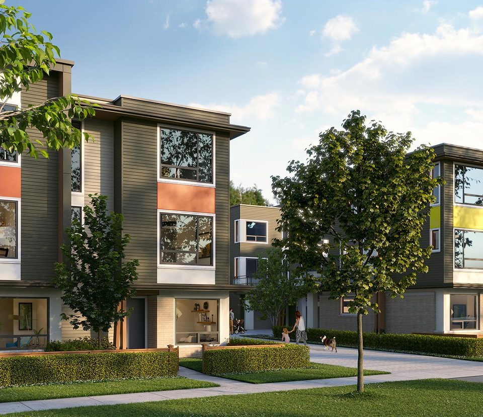 George Townhomes by Marcon at George (3010 St. George Street, Port Moody Centre, Port Moody)