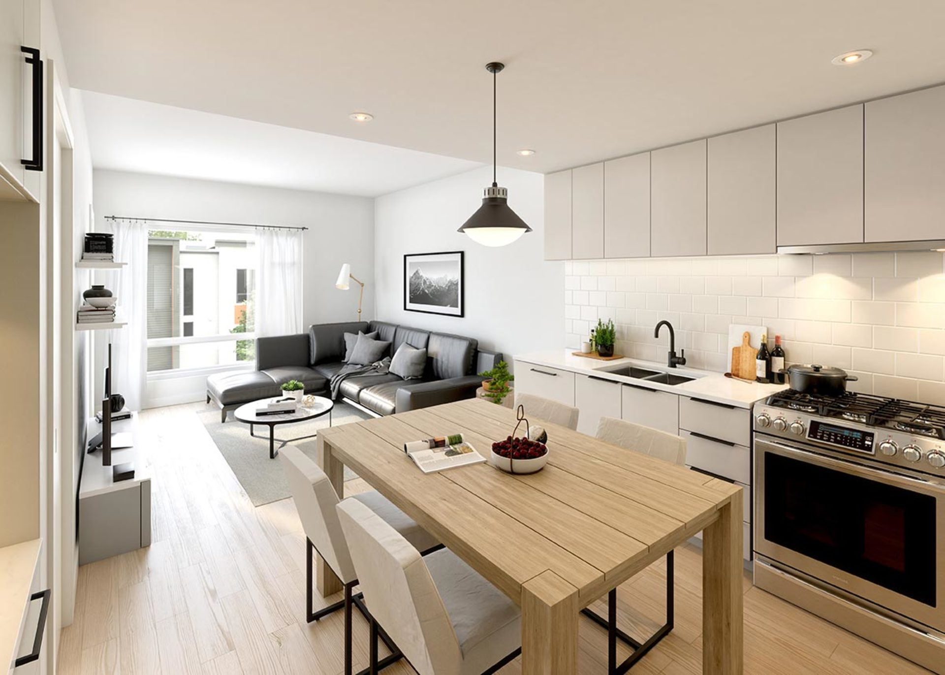 george-condos-kitchen-clour-scheme-1 at George (3010 St. George Street, Port Moody Centre, Port Moody)
