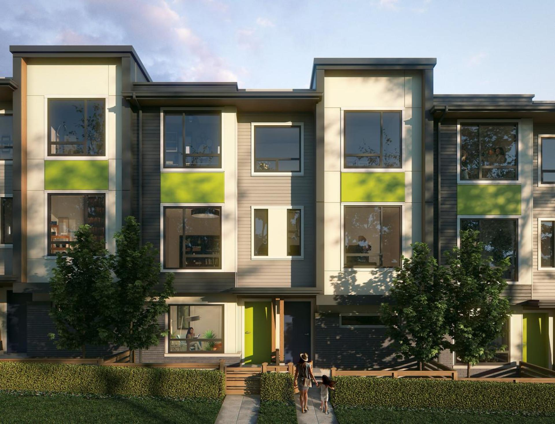 George Townhomes in Port Moody  at George (3010 St. George Street, Port Moody Centre, Port Moody)