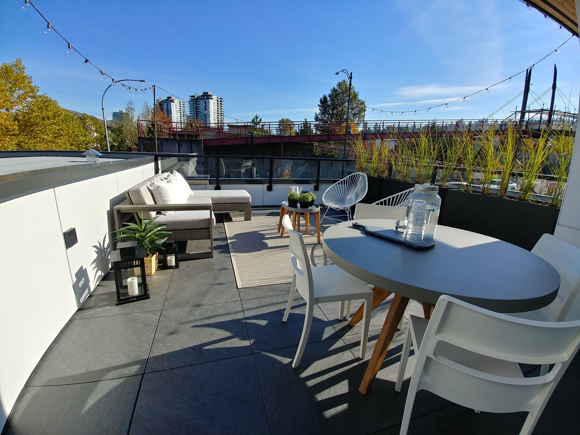 50-electronic-roof-terrace at 50 Electronic Phase 1 and 2 (50 Electronic Avenue, Port Moody Centre, Port Moody)
