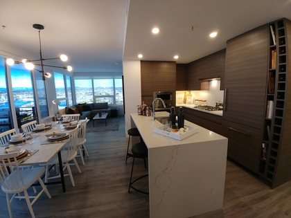 Hudson-place-One interior- Kitchen/ dining at 777 Herald Street, Downtown and Harris Green, Victoria