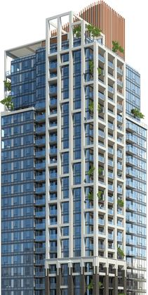 Victoria Presale Rendering at 777 Herald Street, Downtown and Harris Green, Victoria