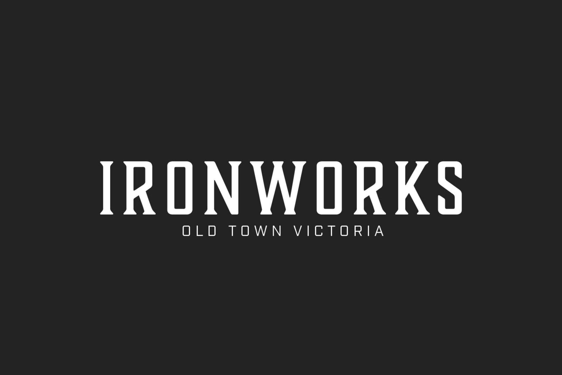 ironworks-logo at Ironworks (515 Chatham Street, Downtown and Harris Green, Victoria)