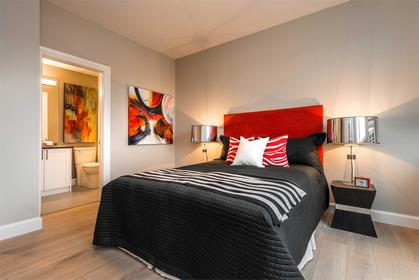 _595_pandora_interior_bedroom at The Abacus (595 Pandora Avenue, Downtown and Harris Green, Victoria)