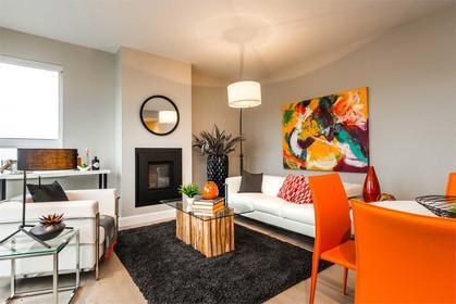 _595_pandora_interior_living at The Abacus (595 Pandora Avenue, Downtown and Harris Green, Victoria)