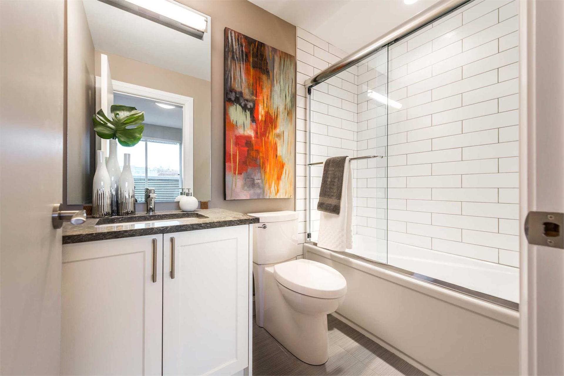 _595_pandora_interior_bathroom at The Abacus (595 Pandora Avenue, Downtown and Harris Green, Victoria)