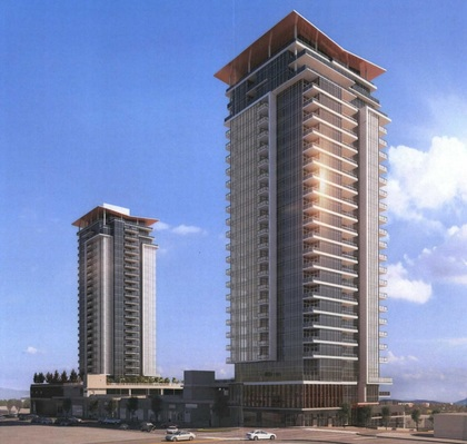 1029-1033 Austin Avenue, Coquitlam- Tower rendering 2 at West at The Heights on Austin (1029 Austin Avenue, Coquitlam West, Coquitlam)