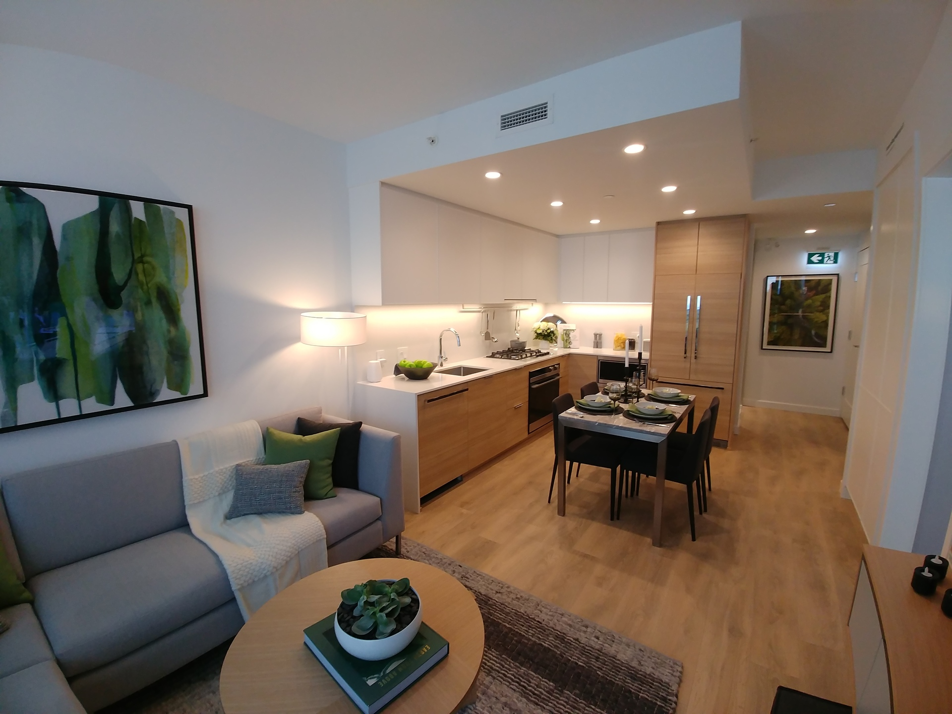 The Heights living space at West at The Heights on Austin (1029 Austin Avenue, Coquitlam West, Coquitlam)