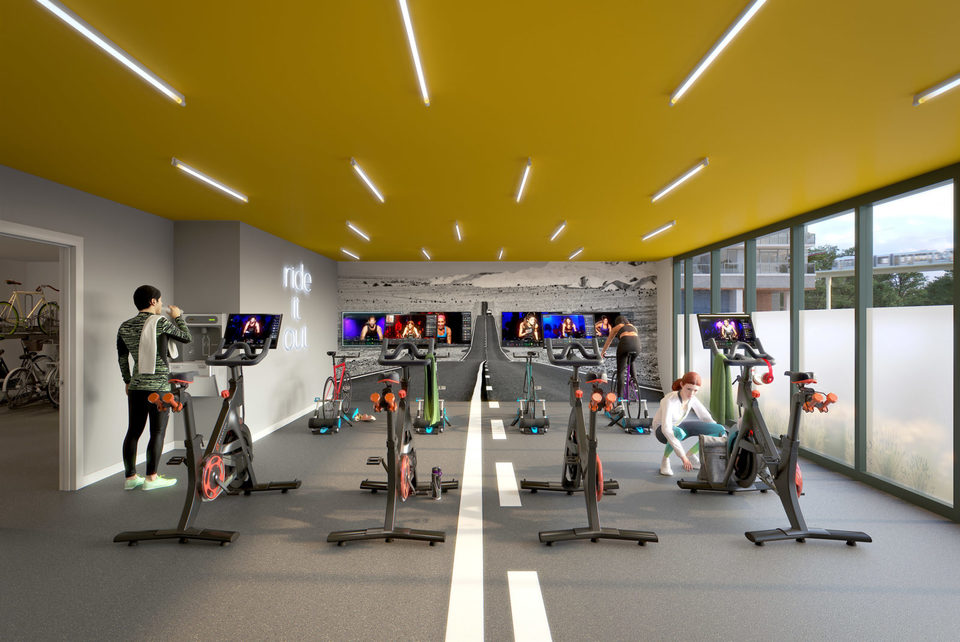 ud2-gym at University District 2 (13425 104 Avenue, Surrey Central (Central City), North Surrey)