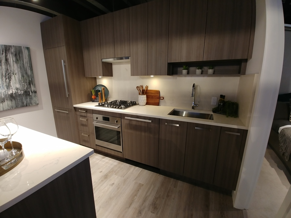 one-central-d5-plan-kitchen at One Central (10297 133a Street, Whalley, North Surrey)
