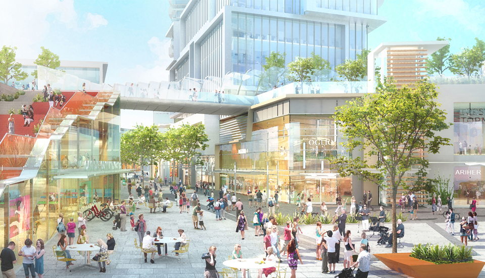 Oakridge Centre Shopping Area  at Oakridge (650 W 41st Avenue, Oakridge VW, Vancouver West)